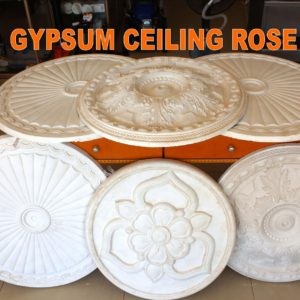 GYPSUM CEILING ROSE